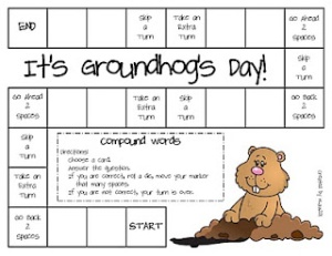It's Groundhog's Day! Game