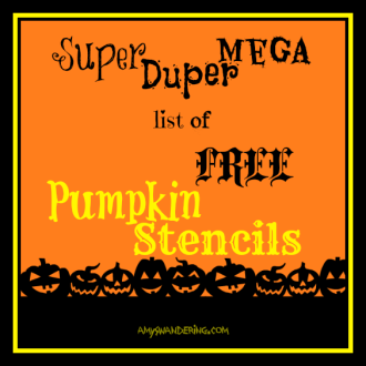 free pumpkin stencils