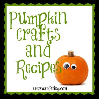 pumpkin crafts and recipes