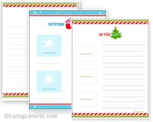 Christmas List Maker.Printable Christmas Wish Lists Amy S Wandering