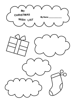 printable christmas wish lists amys wandering