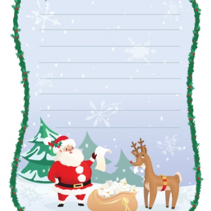 Mr Printable. @ Spoonful  Printable Santa Wish List