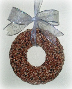 birdseed wreath 2