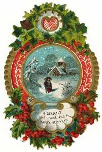 free-vintage-christmas-clip-art-border-snow-scene