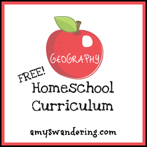 free geography curriculum