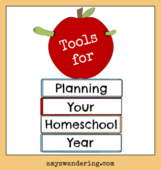 tools for homeschool planning