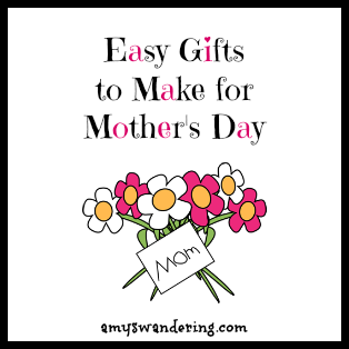 gifts to make for mothers day