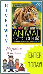 animal encyclopedia giveaway