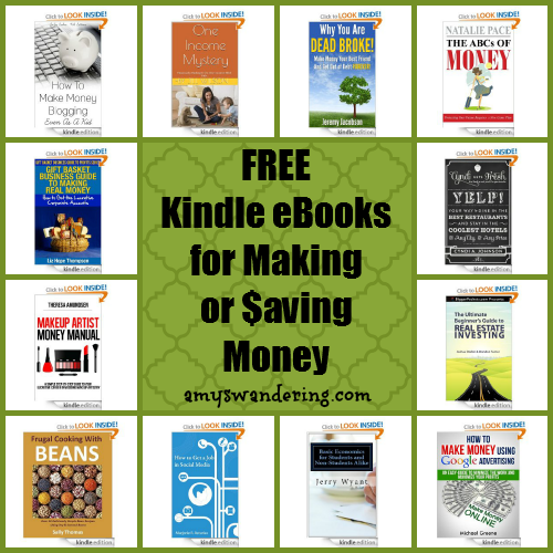 free ebooks for making or saving money