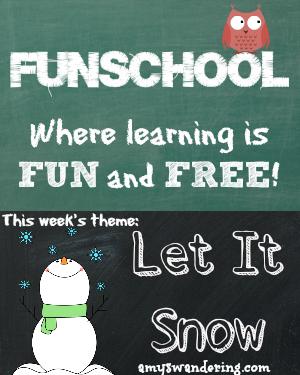 funschool let it snow