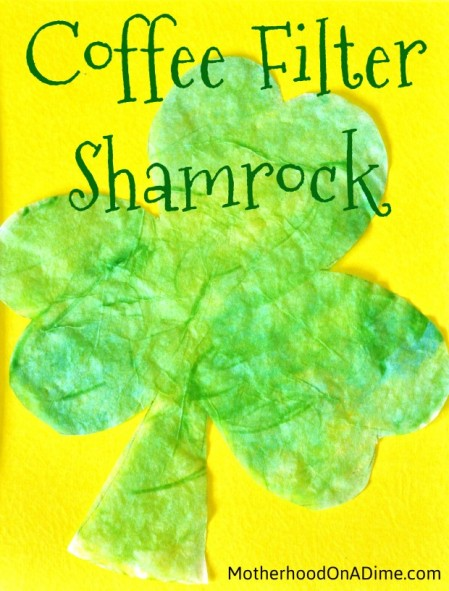 coffee-filter-shamrock