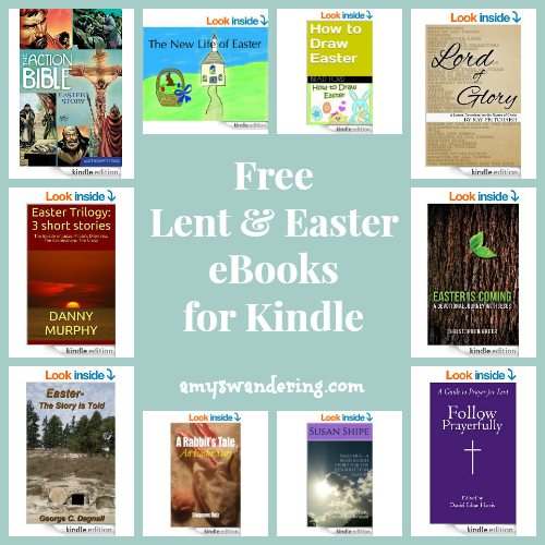 Free Lent & Easter eBooks for Kindle