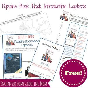 Poppins Book Nook Lapbook Introduction