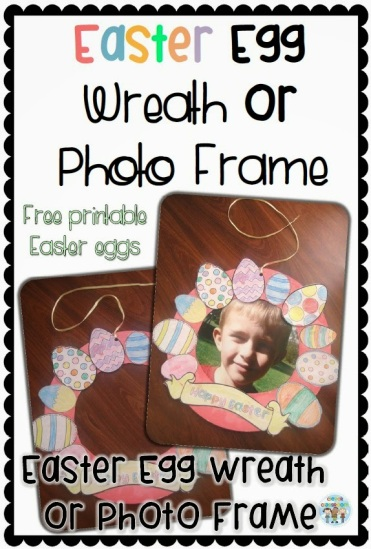 Easter Wreath and Photo Frame