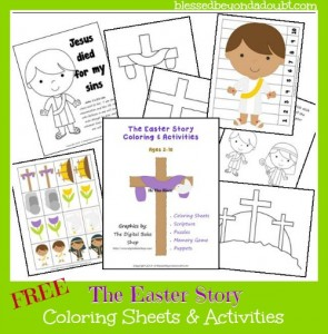 Easterstorycoloring