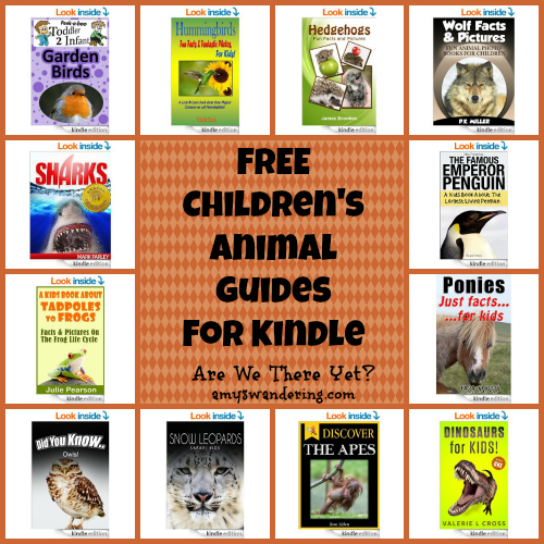 Free Children's Animal Guides for Kindle