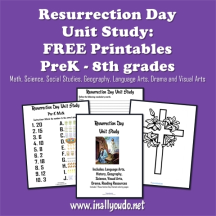 resurrection day unit study