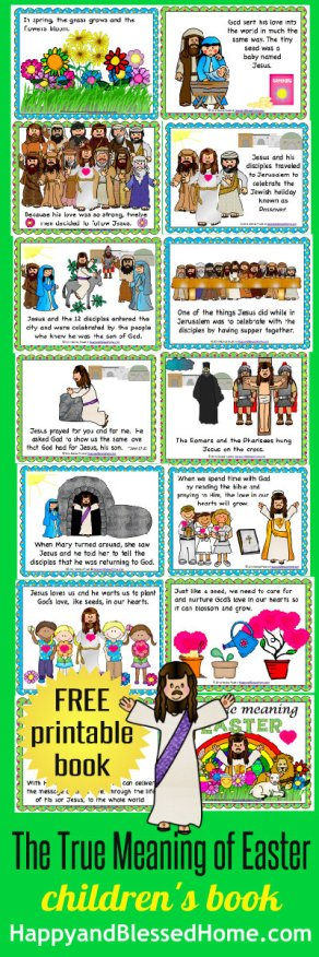 The-True-Meaning-of-Easter-printable-childrens-book-HappyandBlessedHome.com_