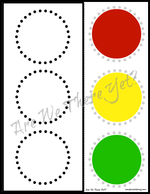 FREE Traffic Light Cut Amp Paste Printable