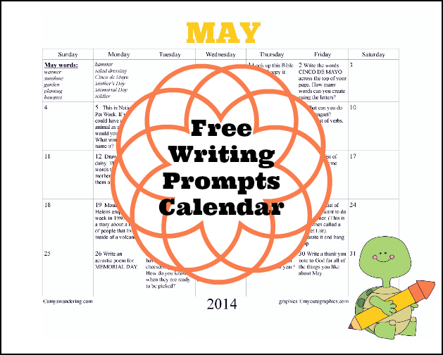 June Calendar Writing Prompts : Free may writing prompts calendar are we there yet