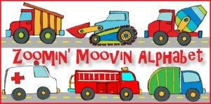 Zoomin Movin Alphabet