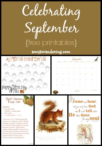 Celebrating September