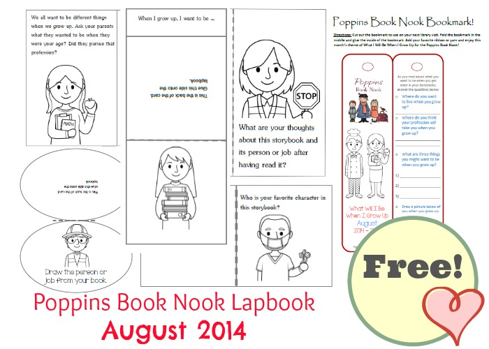 Poppins-Book-Nook-Lapbook-August-2014