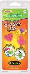 sculpey eraser clay