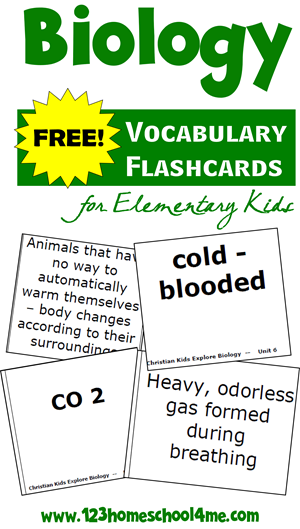 biology cards