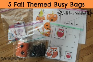 fall busy bags