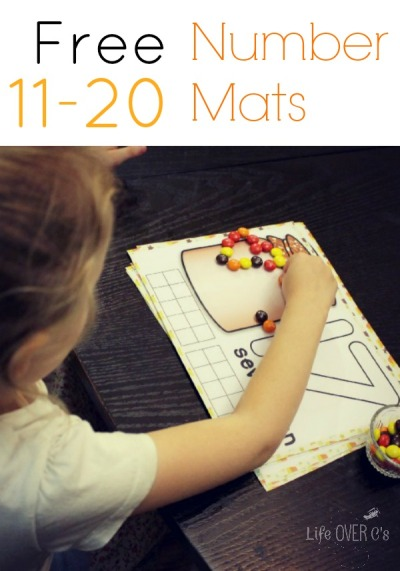 fall number mats