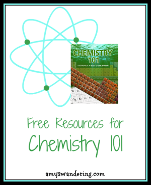 Free Resources for Chemistry 101