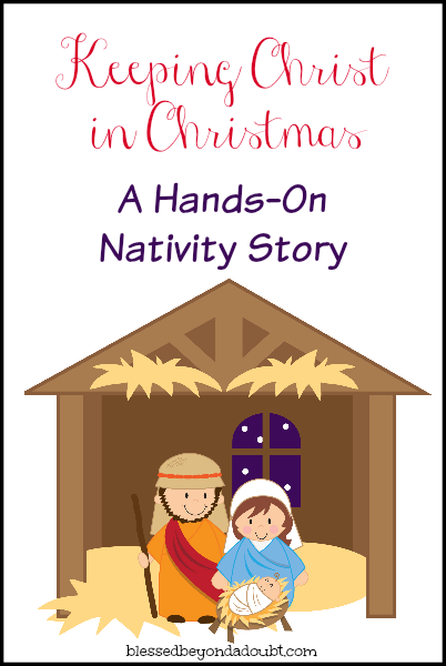 image about Free Printable Nativity Scene referred to as Palms Upon NativityIts Totally free!
