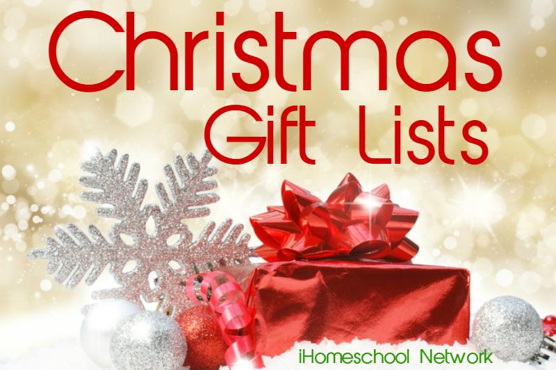 ChristmasGiftListsIIiHomeschoolNetwork