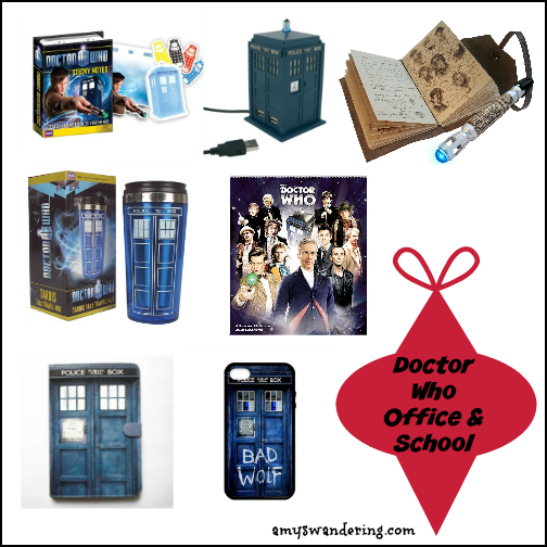 Doctor Who Gift Guide For Your Favorite Whovian Amy S