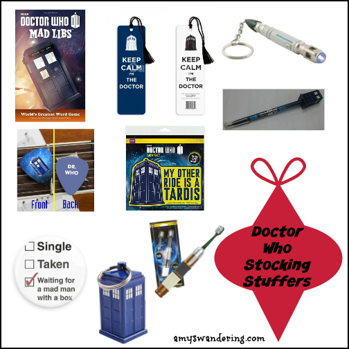 Doctor Who Stocking Stuffers