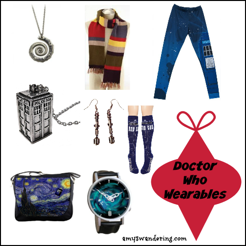 Doctor Who Wearables