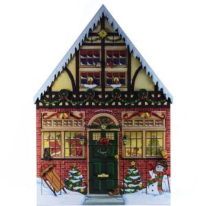 house advent calendar