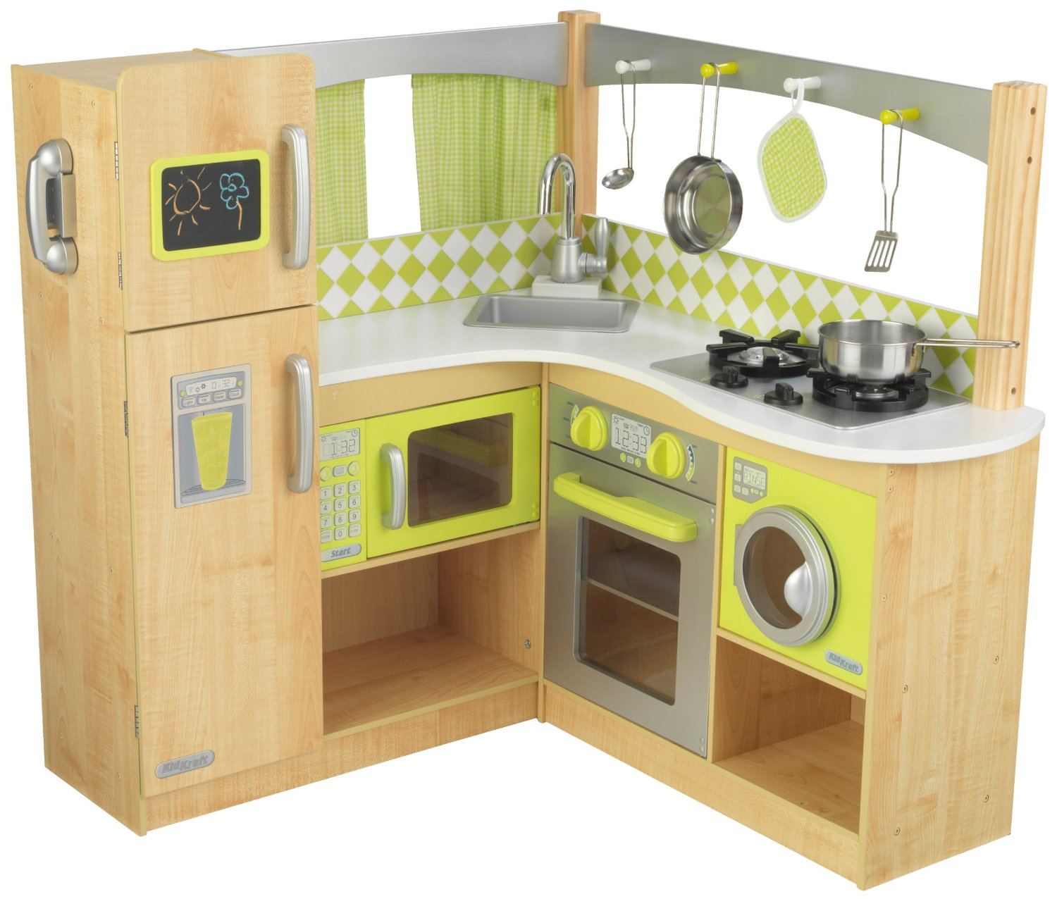 Gift ideas for a pretend play home amy 39 s wandering for Play kitchen designs
