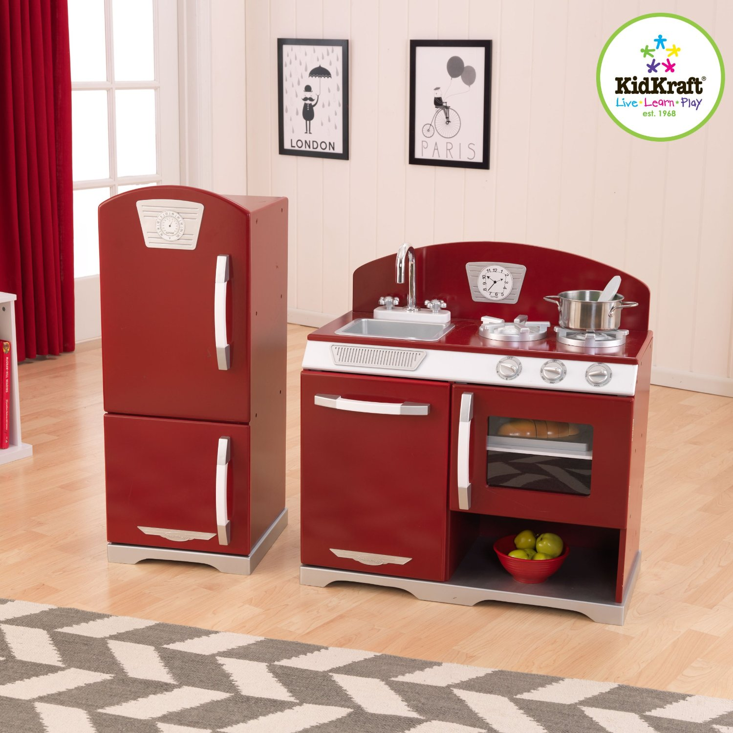 kidkraft cranberry kitchen