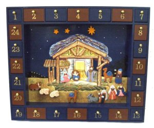 magentic nativity advent calendar