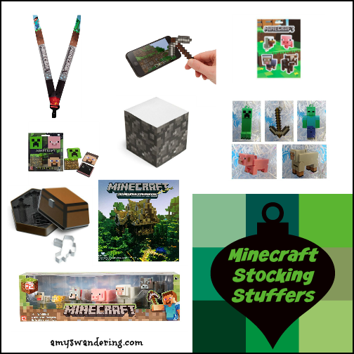 Minecraft Stocking Stuffers