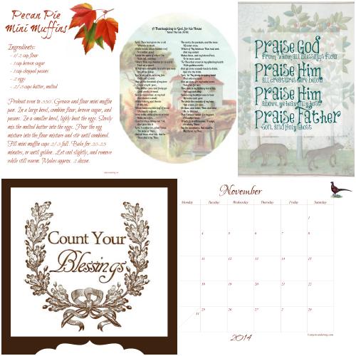 November Contents 1