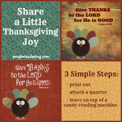 Share a Little Thanksgiving Joy